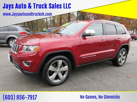 2015 Jeep Grand Cherokee for sale in Loudon, NH