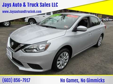 2017 Nissan Sentra for sale in Loudon, NH