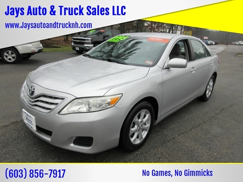 2011 Toyota Camry for sale in Loudon, NH