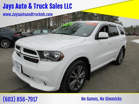 2013 Dodge Durango for sale in Loudon, NH