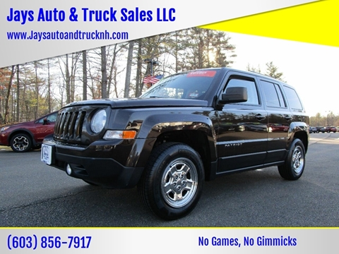 2014 Jeep Patriot for sale in Loudon, NH