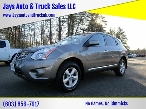 2013 Nissan Rogue for sale in Loudon, NH