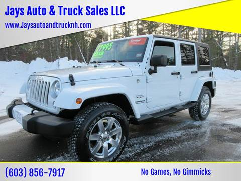2016 Jeep Wrangler Unlimited for sale in Loudon, NH