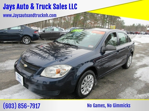 2010 Chevrolet Cobalt for sale in Loudon, NH