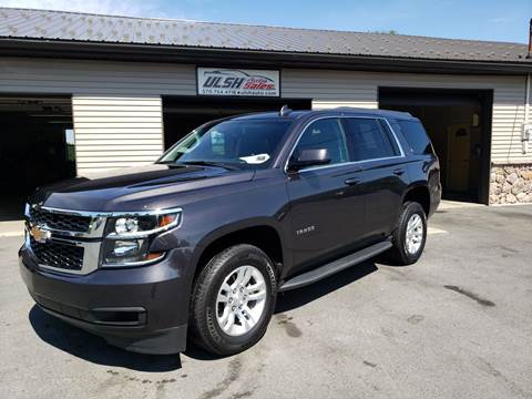 2018 Chevrolet Tahoe for sale at Ulsh Auto Sales Inc. in Summit Station PA