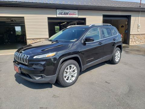 2016 Jeep Cherokee for sale at Ulsh Auto Sales Inc. in Summit Station PA