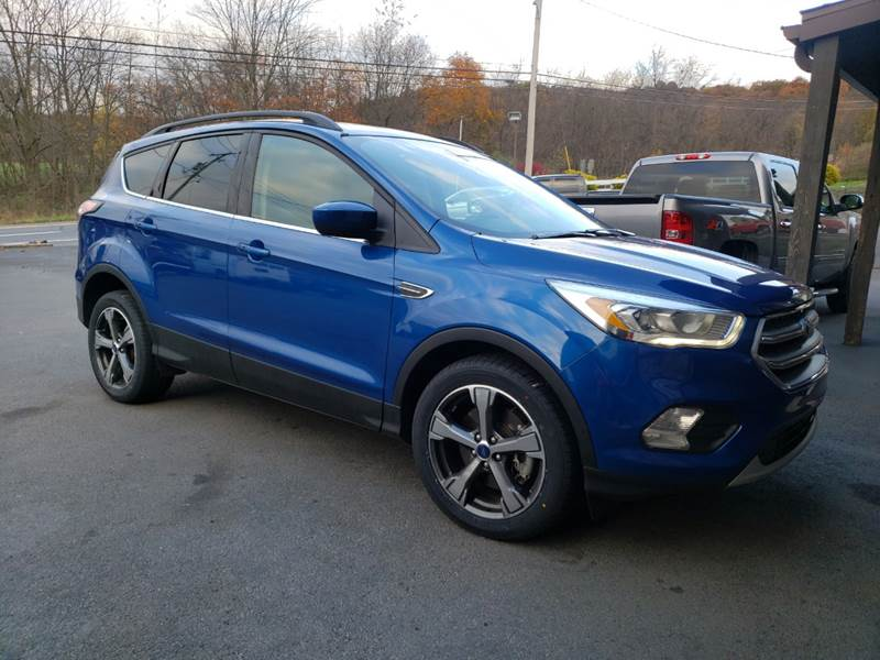 2017 Ford Escape for sale at Ulsh Auto Sales Inc. in Summit Station PA