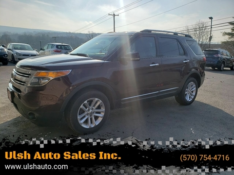 2011 Ford Explorer for sale at Ulsh Auto Sales Inc. in Summit Station PA