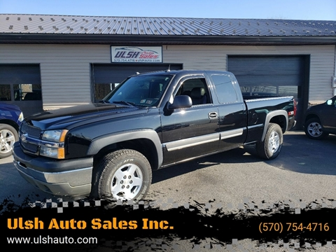 2005 Chevrolet Silverado 1500 for sale at Ulsh Auto Sales Inc. in Summit Station PA
