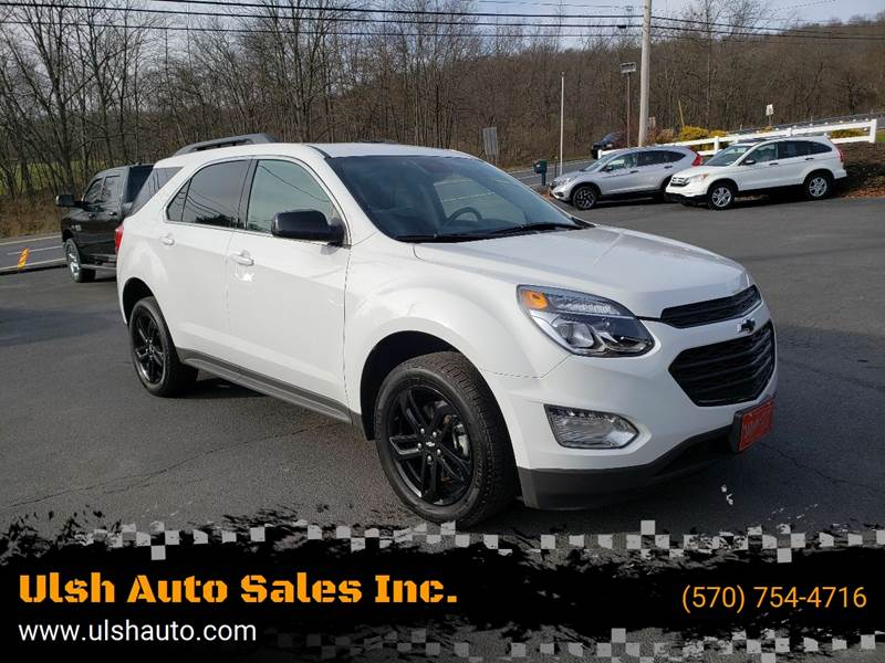 2017 Chevrolet Equinox for sale at Ulsh Auto Sales Inc. in Summit Station PA
