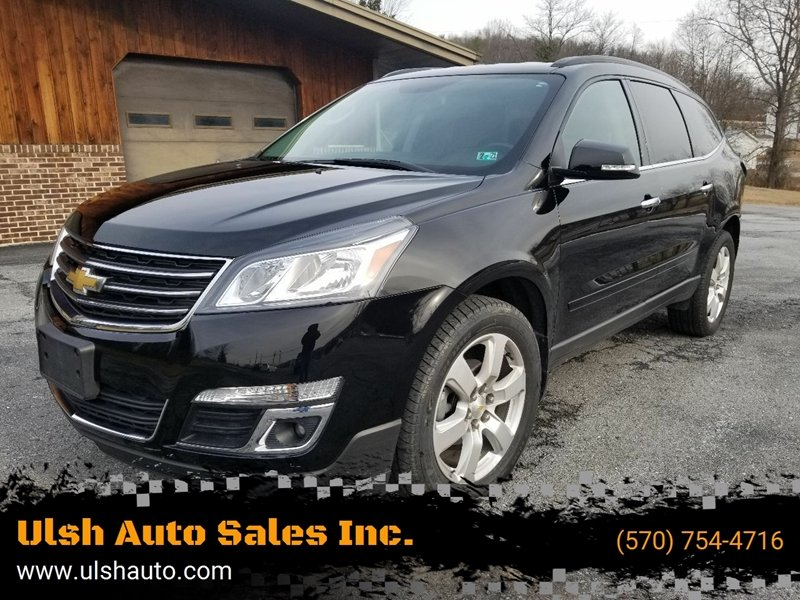 2017 Chevrolet Traverse for sale at Ulsh Auto Sales Inc. in Summit Station PA
