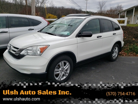 2011 Honda CR-V for sale at Ulsh Auto Sales Inc. in Summit Station PA