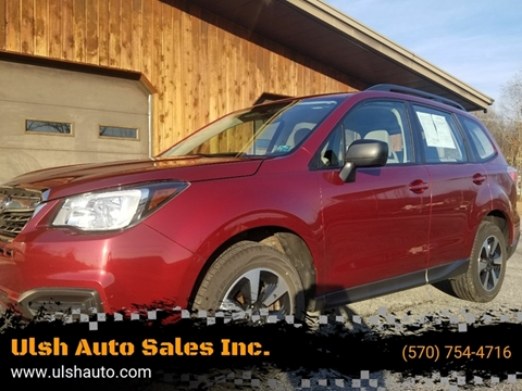 2017 Subaru Forester for sale at Ulsh Auto Sales Inc. in Summit Station PA