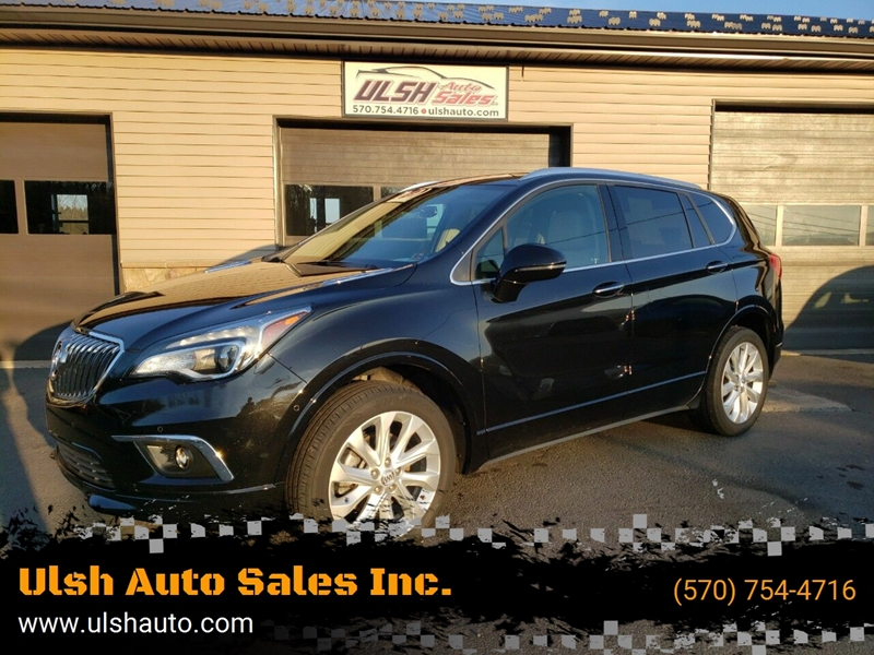 2016 Buick Envision for sale at Ulsh Auto Sales Inc. in Summit Station PA