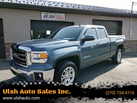 2014 GMC Sierra 1500 for sale at Ulsh Auto Sales Inc. in Summit Station PA