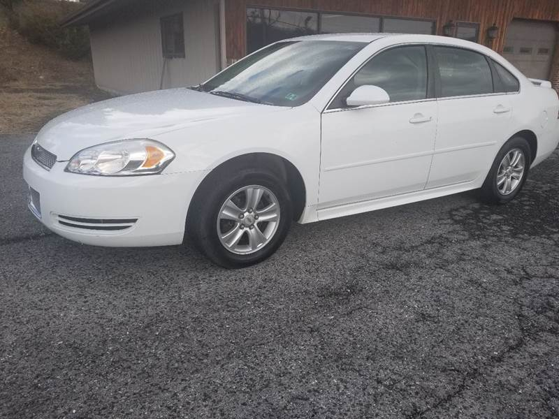 2012 Chevrolet Impala for sale at Ulsh Auto Sales Inc. in Summit Station PA