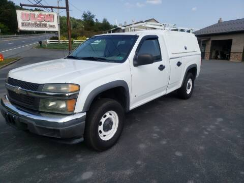 2006 Chevrolet Colorado for sale at Ulsh Auto Sales Inc. in Summit Station PA