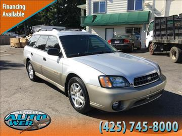 2003 Subaru Outback for sale in Lynnwood, WA