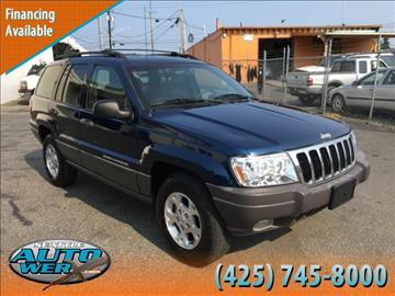 1999 Jeep Grand Cherokee for sale at Seattle Auto Werx in Lynnwood WA