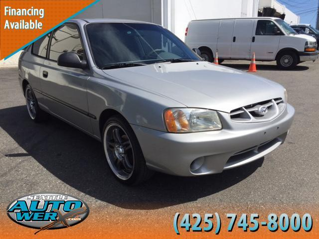 2002 Hyundai Accent for sale at Seattle Auto Werx in Lynnwood WA