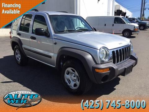 2004 Jeep Liberty for sale at Seattle Auto Werx in Lynnwood WA
