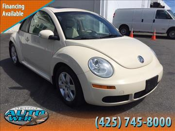 2006 Volkswagen New Beetle for sale at Seattle Auto Werx in Lynnwood WA
