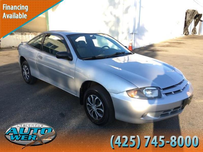 2005 Chevrolet Cavalier for sale at Seattle Auto Werx in Lynnwood WA