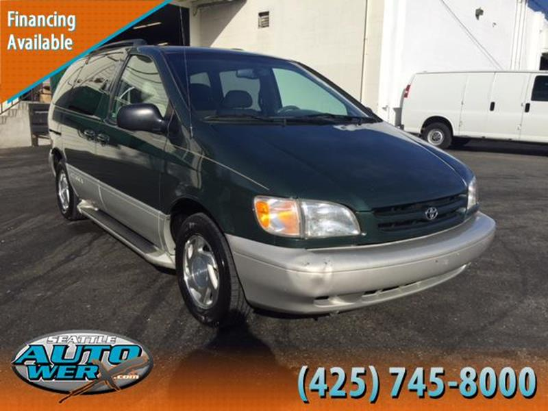 2000 Toyota Sienna for sale at Seattle Auto Werx in Lynnwood WA