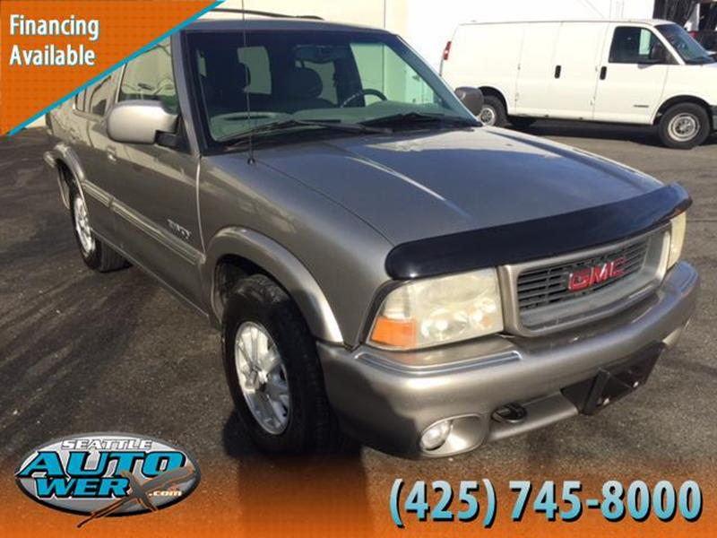 2000 GMC Jimmy for sale at Seattle Auto Werx in Lynnwood WA