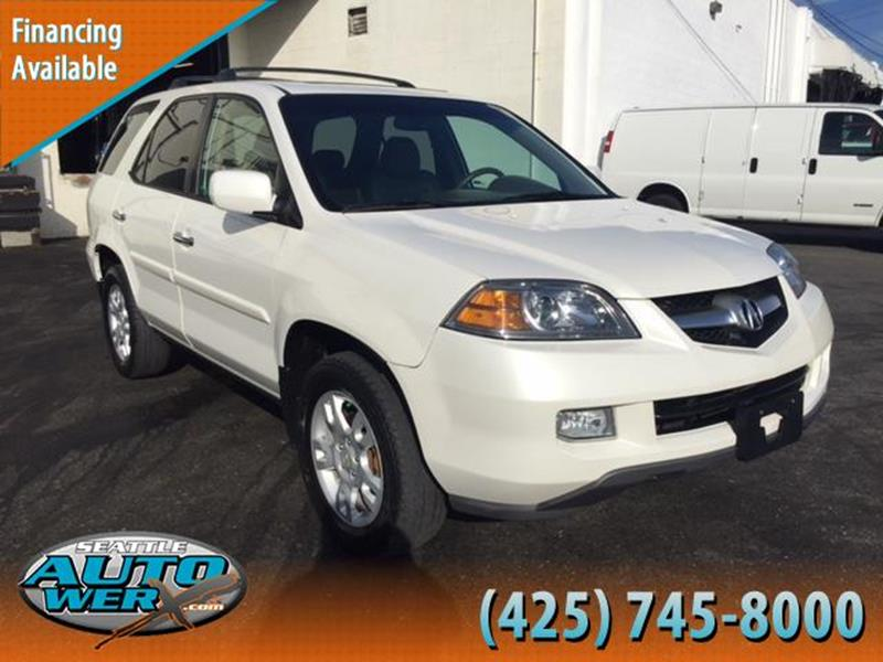 2004 Acura MDX for sale at Seattle Auto Werx in Lynnwood WA