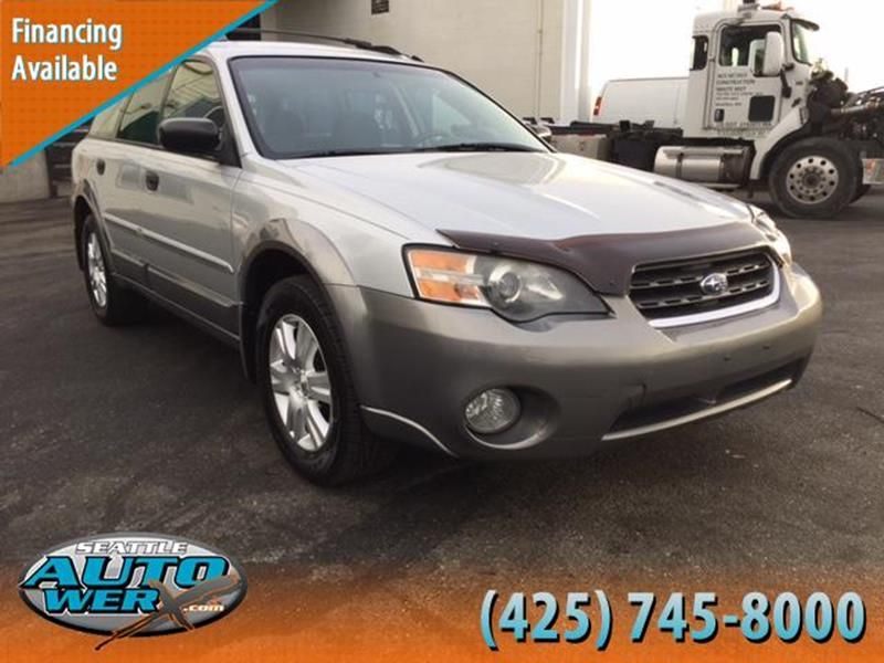 2005 Subaru Outback for sale at Seattle Auto Werx in Lynnwood WA