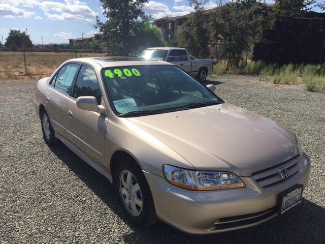 Superior 2002 Honda Accord SE 4dr Sedan   Vacaville CA