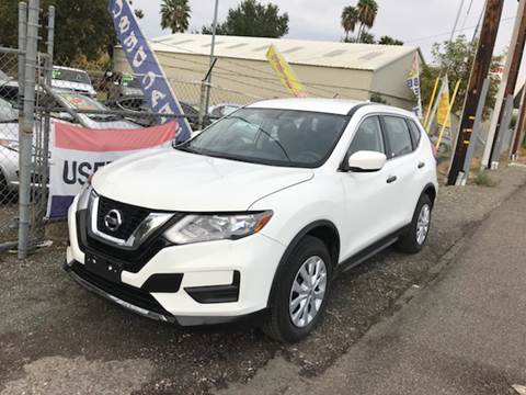 2017 Nissan Rogue for sale at Quintero's Auto Sales in Vacaville CA
