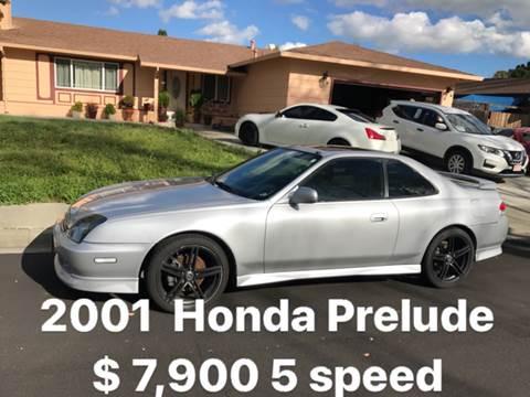 2001 Honda Prelude for sale at Quintero's Auto Sales in Vacaville CA