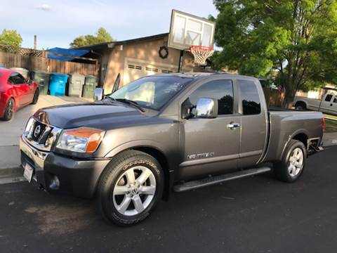 2008 Nissan Titan for sale at Quintero's Auto Sales in Vacaville CA