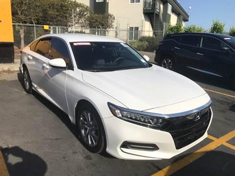 2018 Honda Accord for sale at Quintero's Auto Sales in Vacaville CA