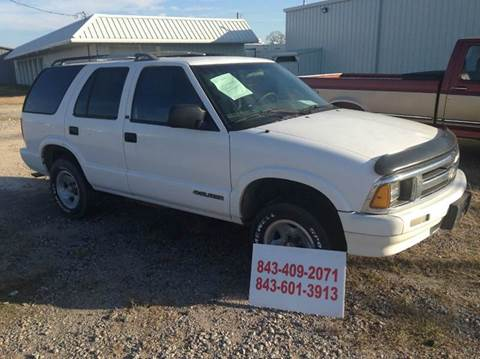 1995 Chevrolet Blazer for sale in Florence, SC
