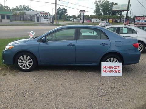 2013 Toyota Corolla for sale in Florence, SC