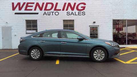 2016 Hyundai Sonata Hybrid for sale in Rochelle, IL