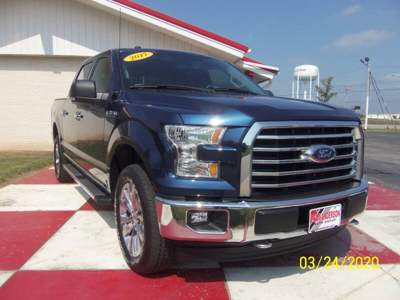 2017 Ford F-150 4x4 XLT 4dr SuperCrew 5.5 ft. SB - Richmond IN