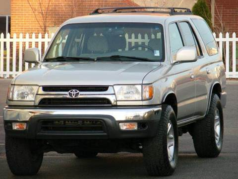 2001 Toyota 4Runner for sale at THE MANHATTAN AUTO GROUP in Greeley CO