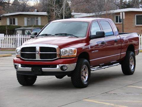 2006 Dodge Ram Pickup 3500 for sale at THE MANHATTAN AUTO GROUP in Greeley CO