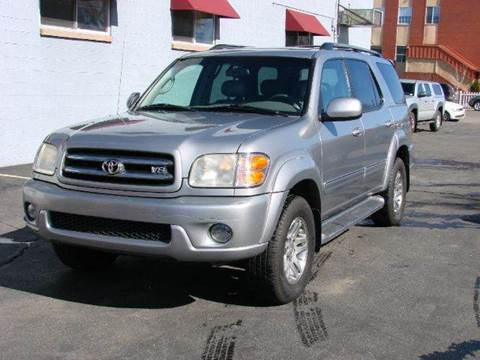 2004 Toyota Sequoia for sale at THE MANHATTAN AUTO GROUP in Greeley CO