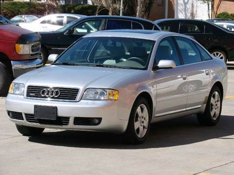 2003 Audi A6 for sale at THE MANHATTAN AUTO GROUP in Greeley CO