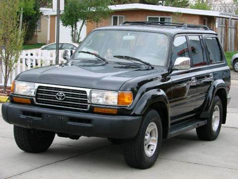 1995 Toyota Land Cruiser for sale at THE MANHATTAN AUTO GROUP in Greeley CO
