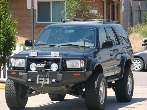 2002 Toyota 4Runner for sale at THE MANHATTAN AUTO GROUP in Greeley CO
