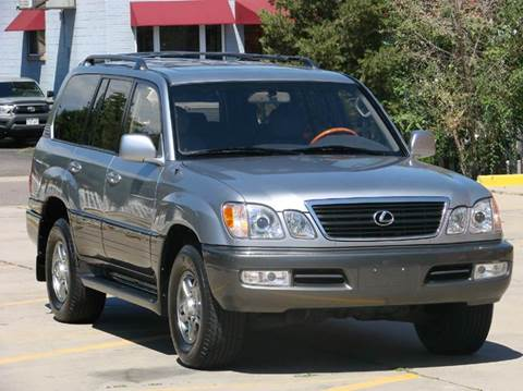 2002 Lexus LX 470 for sale at THE MANHATTAN AUTO GROUP in Greeley CO