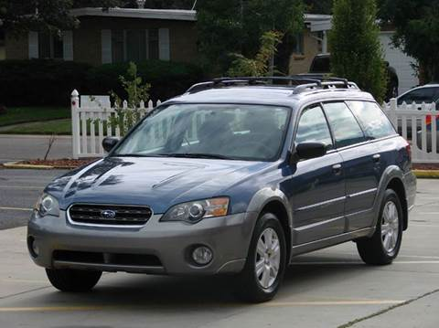 2005 Subaru Outback for sale at THE MANHATTAN AUTO GROUP in Greeley CO
