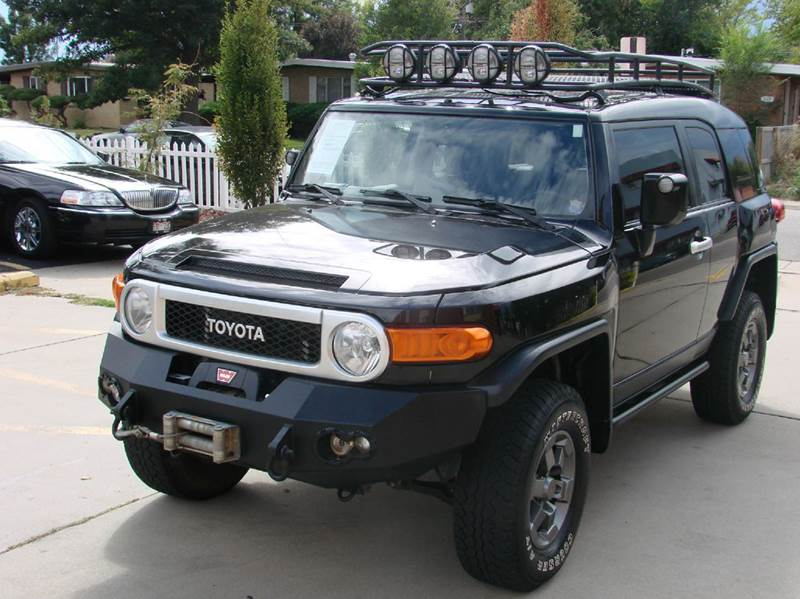 2007 Toyota FJ Cruiser for sale at THE MANHATTAN AUTO GROUP in Greeley CO