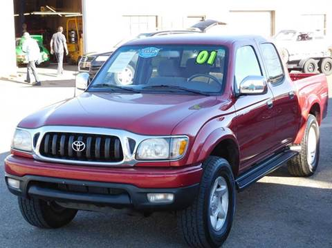 2001 Toyota Tacoma for sale at THE MANHATTAN AUTO GROUP in Greeley CO
